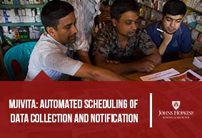 mJivita: Automated Scheduling of Data Collection and Notification